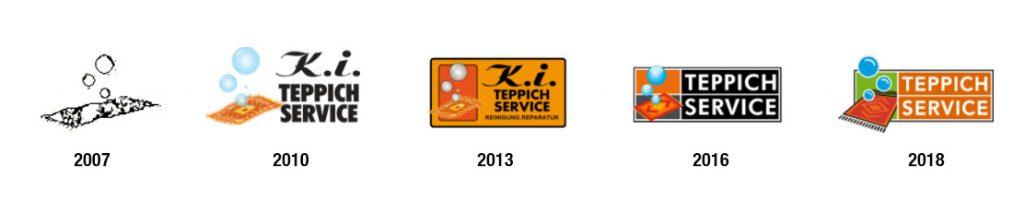 Logo-Entwicklung K.I. Teppichservice
